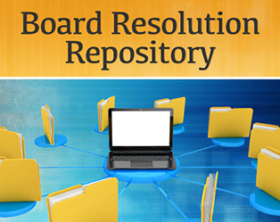 Board Resolution Repository